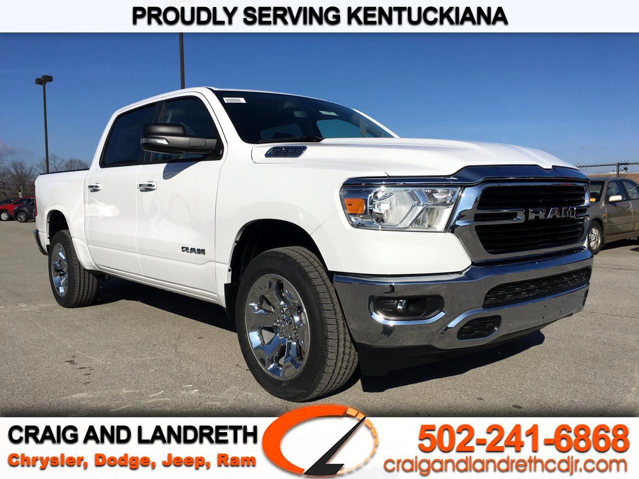 New 2020 RAM 1500 Big Horn 4x4 Crew Cab 5 ft7 in Box