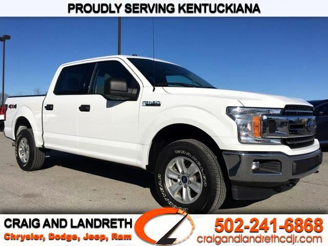 Pre-Owned 2018 Ford F-150 4WD SuperCrew 139 in XLT