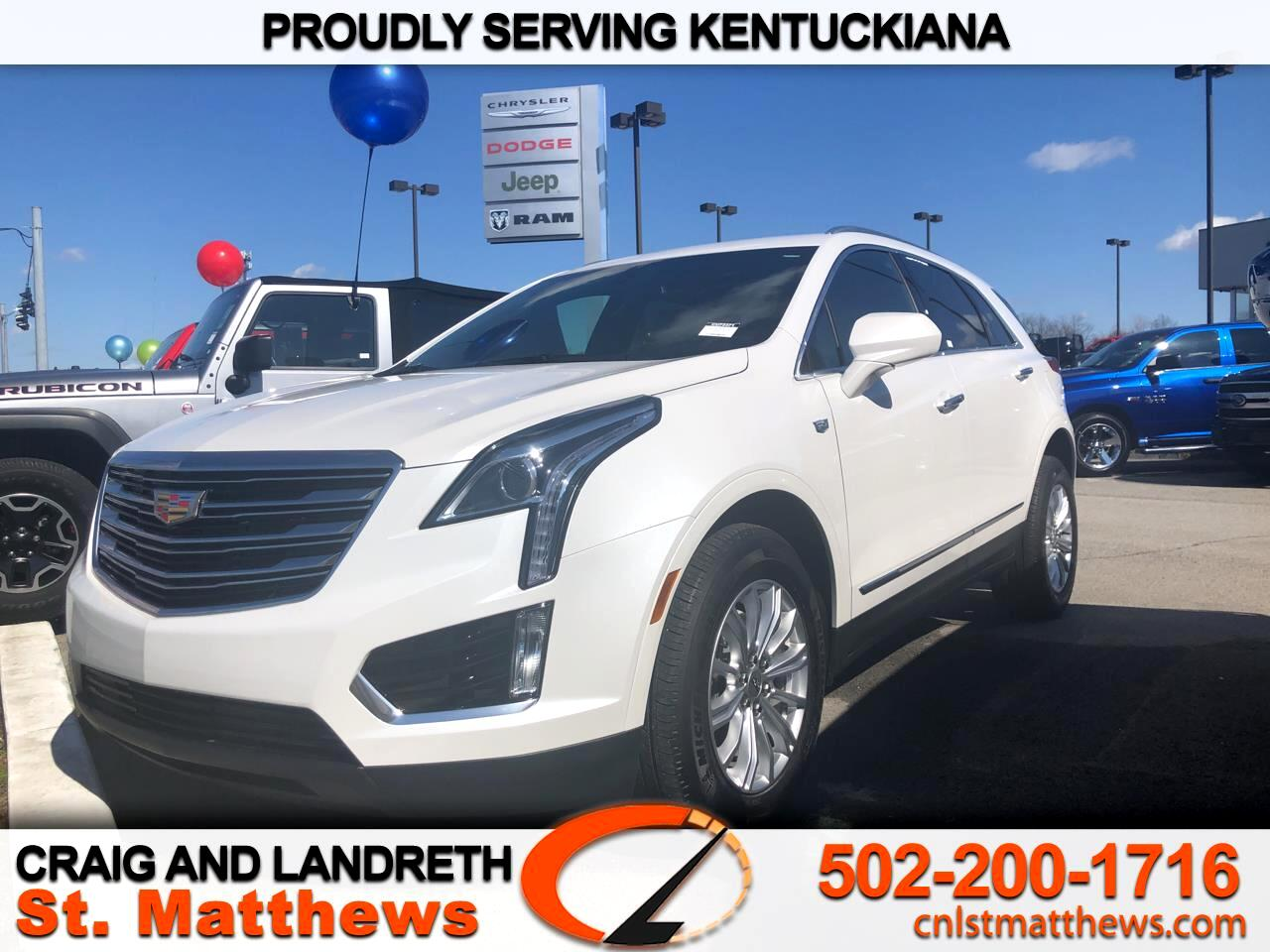 Pre-Owned 2019 Cadillac XT5 AWD 4dr