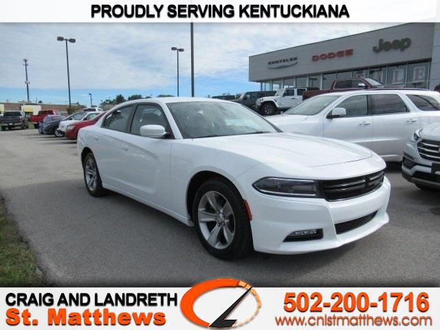 Certified Pre Owned 2017 Dodge Charger Sxt Rwd Sedan In Crestwood