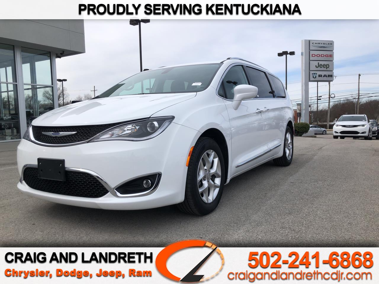 Pre-Owned 2020 Chrysler Pacifica Touring L FWD