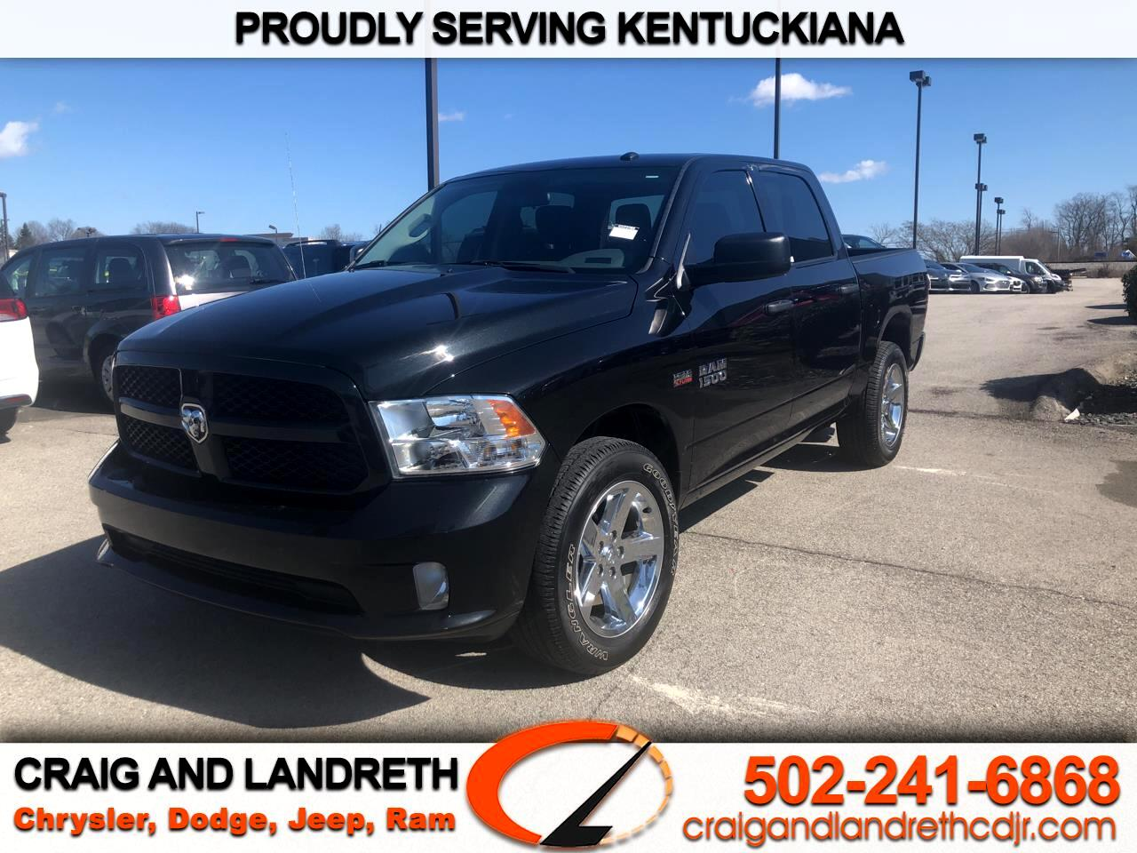 Pre-Owned 2017 RAM 1500 Express 4x4 Crew Cab 5 ft7 in Box