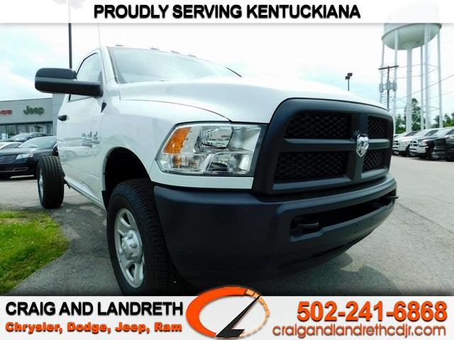 New 2018 RAM 3500 SRW 10K GVWR Chassis Cab TRADESMAN 4WD REG CAB 60 in