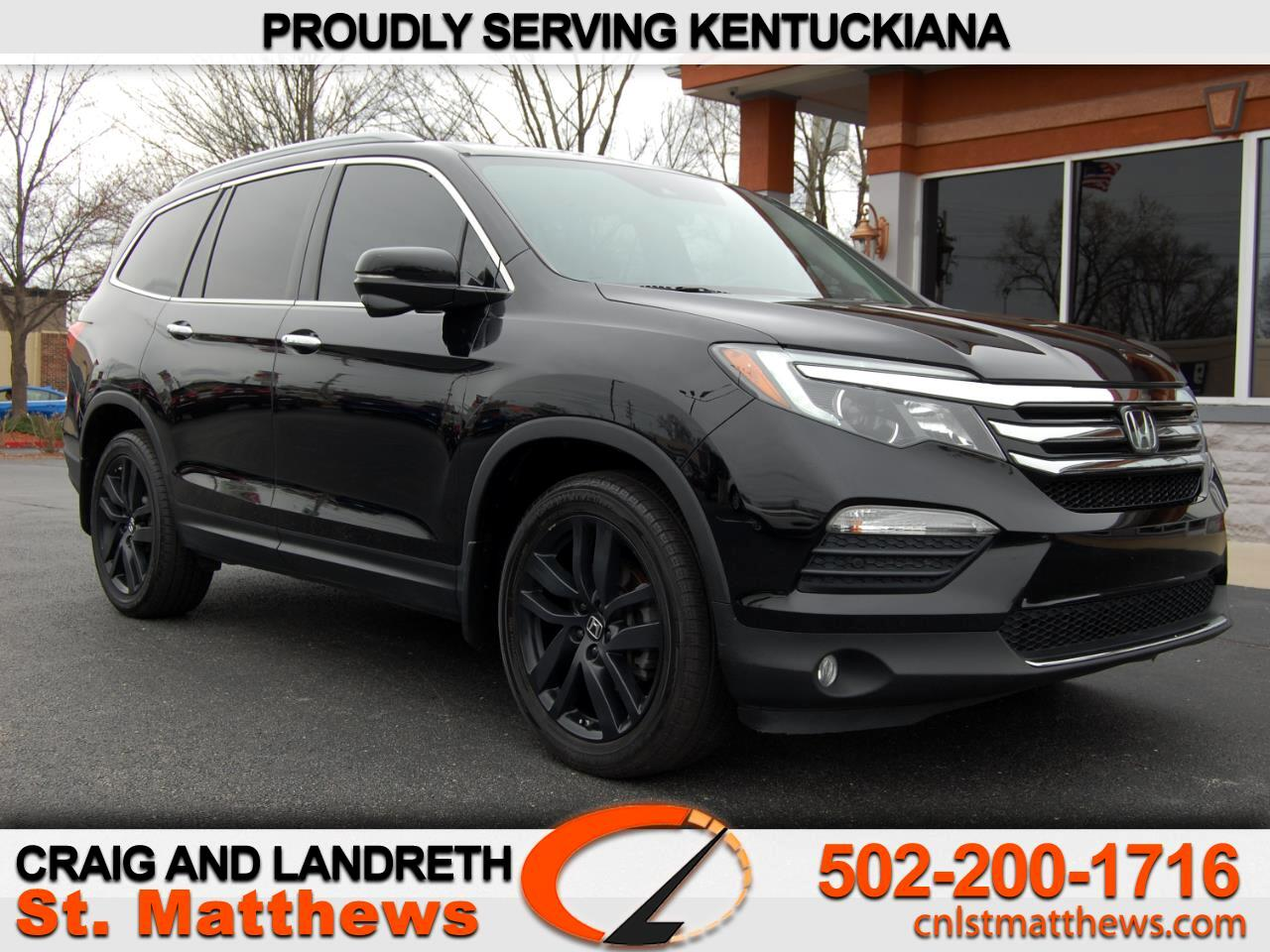 Pre-Owned 2016 Honda Pilot AWD 4dr Touring w/RES & Navi