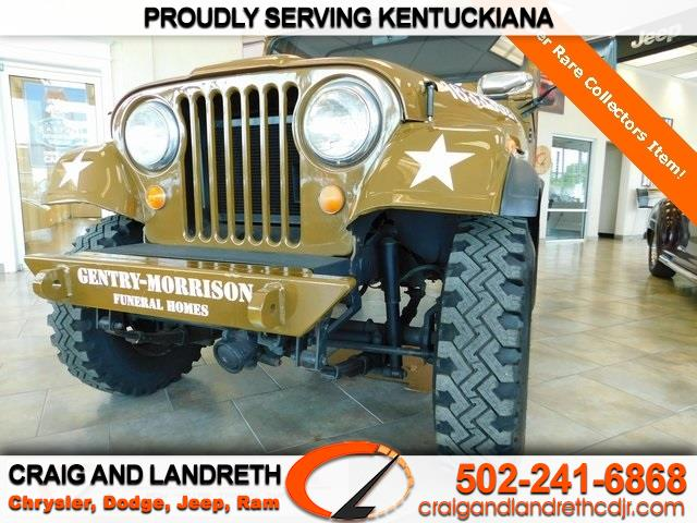 Pre-Owned 1969 Jeep CJ-7