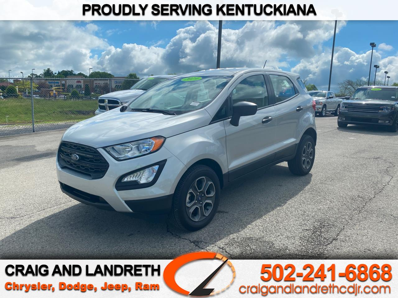 Pre-Owned 2019 Ford EcoSport S 4WD