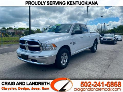 Pre-Owned 2019 RAM 1500 Classic SLT 4x2 Crew Cab 6 ft4 in Box