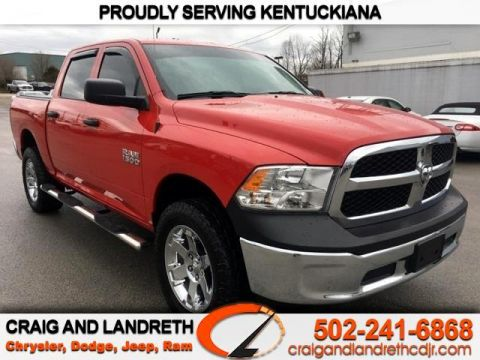 Pre-Owned 2017 RAM 1500 TRADESMAN 4X4 CREW CAB 5 ft