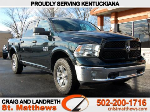 Pre-Owned 2016 RAM 1500 4WD Crew Cab 140.5 in Outdoorsman