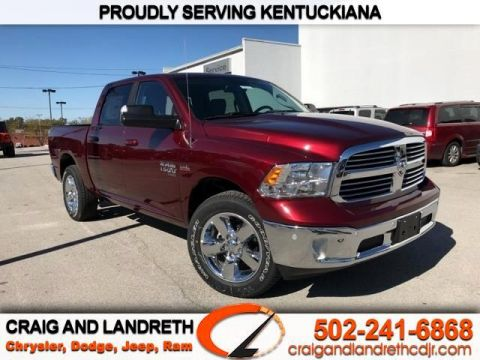 New 2019 RAM 1500 Classic SLT 4x4 Crew Cab 5 ft7 in Box