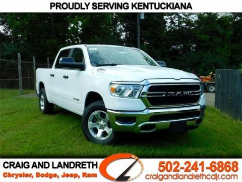 New 2019 RAM 1500 TRADESMAN 4X4 CREW CAB 5 ft
