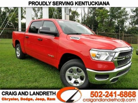 New 2019 RAM All-New 1500 TRADESMAN 4X4 CREW CAB 5 ft