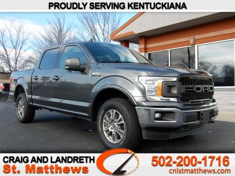 Pre-Owned 2019 Ford F-150 Lariat 4WD SuperCrew 5.5 ft Box