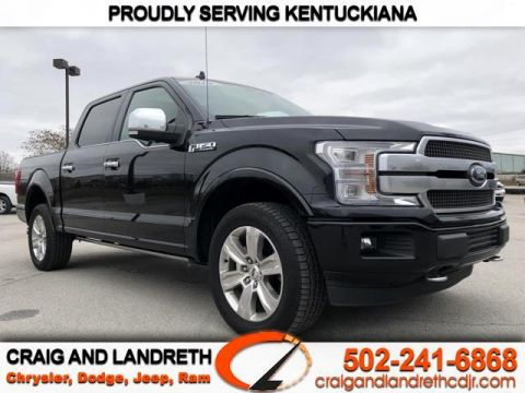 Pre-Owned 2019 Ford F-150 Platinum 4WD SuperCrew 5.5 ft Box