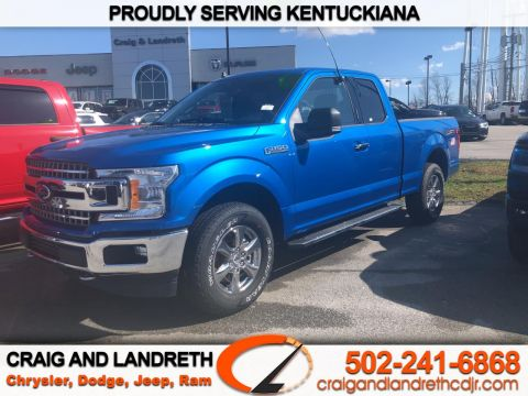 Pre-Owned 2019 Ford F-150 4WD SuperCab 133 in XLT