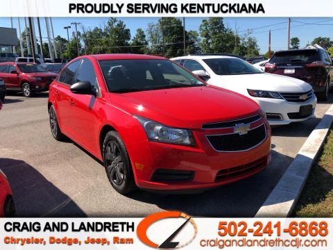 Pre-Owned 2014 Chevrolet Cruze 4dr Sdn Man LS