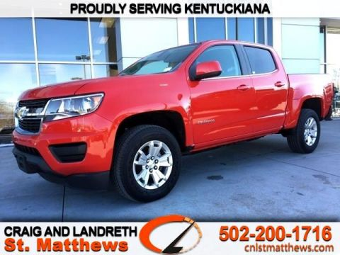 Pre-Owned 2019 Chevrolet Colorado 4WD Crew Cab 128.3 in LT