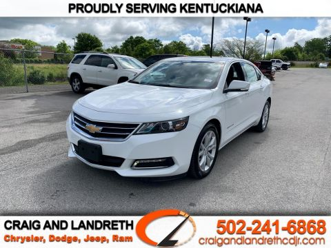Pre-Owned 2019 Chevrolet Impala 4dr Sdn LT w/1LT