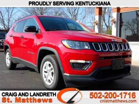 Pre-Owned 2019 Jeep Compass Sport FWD