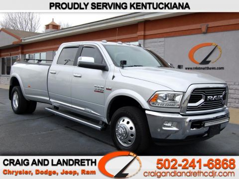Pre-Owned 2018 RAM 3500 Limited 4x2 Crew Cab 8 ft Box