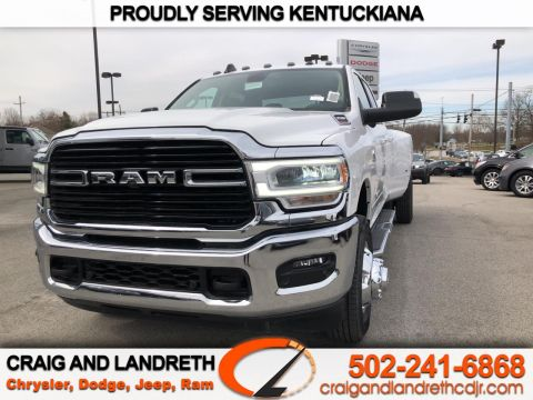 New 2019 RAM 3500 BIG HORN 4X4 CREW CAB 8 ft