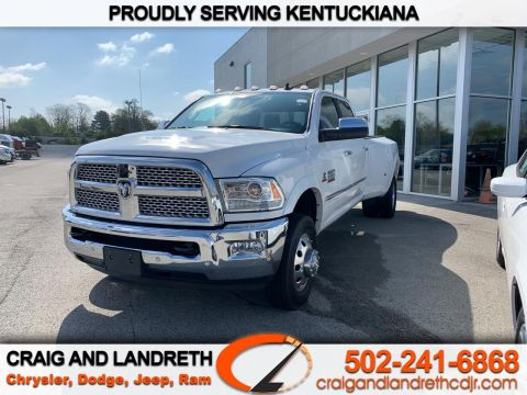 Pre-Owned 2018 RAM 3500 Laramie 4x4 Crew Cab 8 ft Box