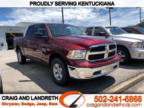 New 2020 RAM 1500 Classic Tradesman 4x4 Crew Cab 5 ft7 in Box