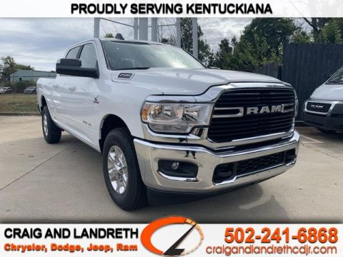 New 2019 RAM 2500 BIG HORN 4X2 CREW CAB 6 ft4